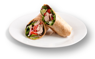 Maid-Rite's delicious chicken wrap