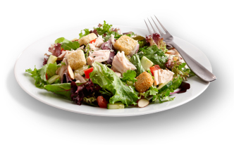 Maid-Rite salads are light in the right spots- not on flavor!